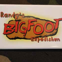 Bigfoot Expedishun Button