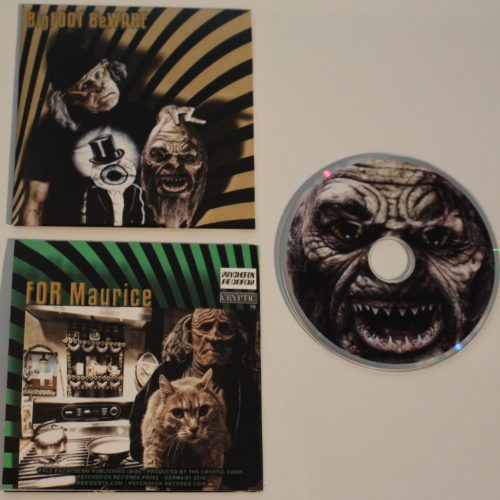 Bigfoot Beware Mini CD